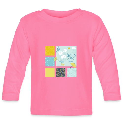 Sommerregen Liebe - Baby Langarmshirt