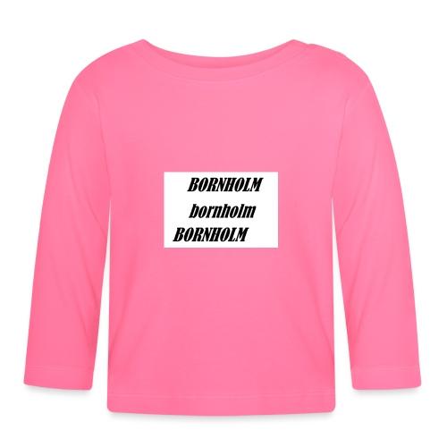 Bornholm Bornholm Bornholm - Langærmet babyshirt