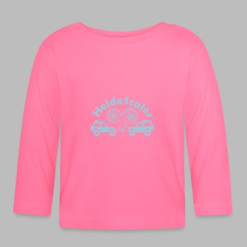 Heide Scaler (freie Farbwahl) - Baby Langarmshirt