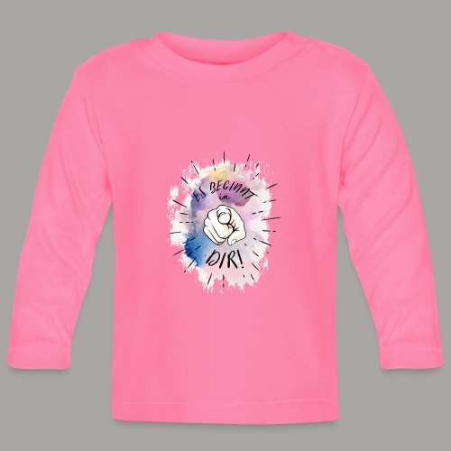 shirt bunt tshirt druck - Baby Langarmshirt