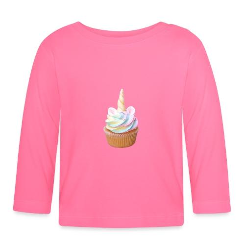 Unicorn cake - Camiseta manga larga bebé