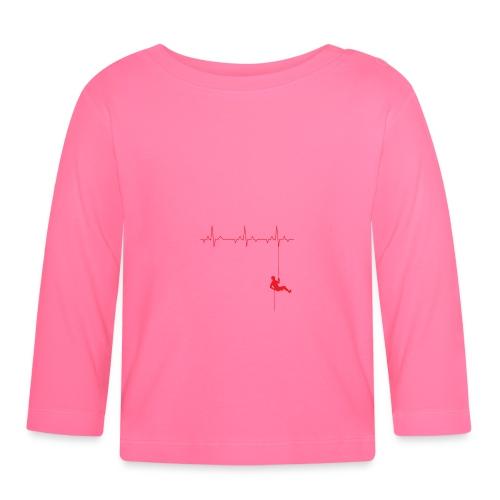 Love Rappelling ECG - Baby Long Sleeve T-Shirt