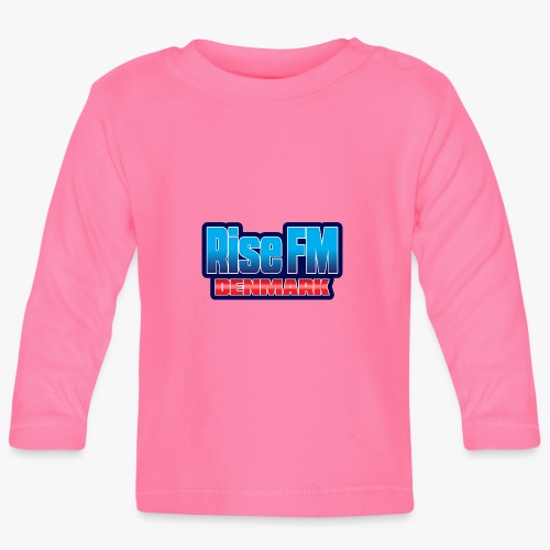 Rise FM Denmark Text Only Logo - Baby Long Sleeve T-Shirt