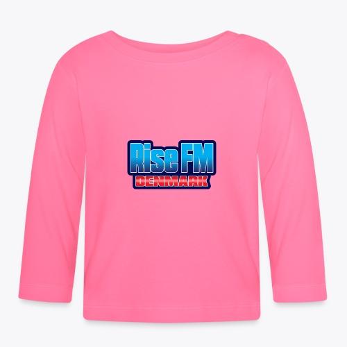 Rise FM Denmark Text Only Logo - Langærmet babyshirt