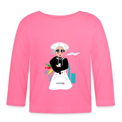 la grand mere Dousig - T-shirt manches longues Bébé
