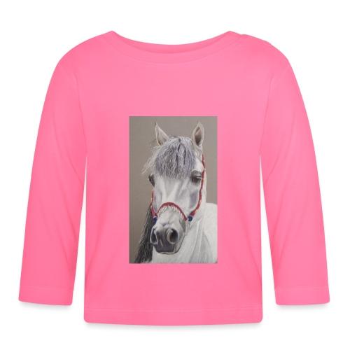 Desert princess - arabian mare - Langærmet babyshirt