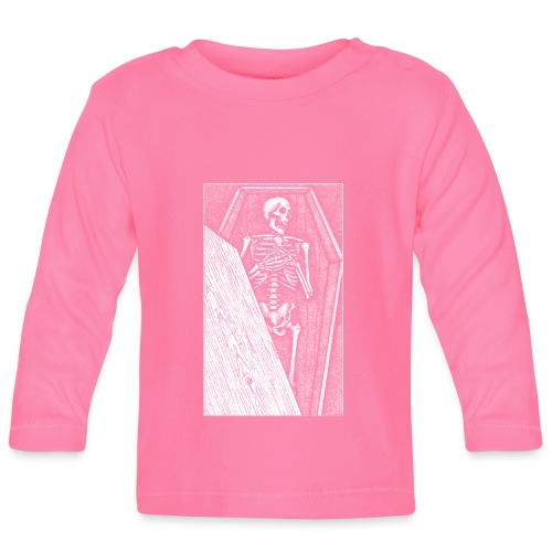 Death bed Stipple - Baby Long Sleeve T-Shirt