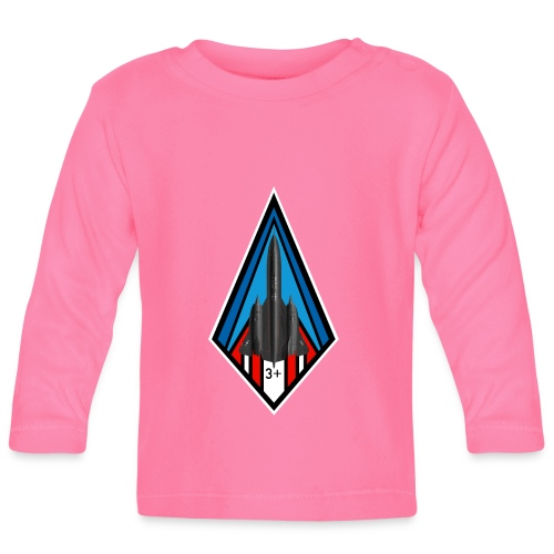 SR-71 Blackbird - Baby Long Sleeve T-Shirt