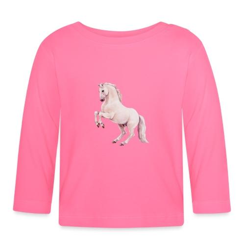 White stallion - Baby Langarmshirt