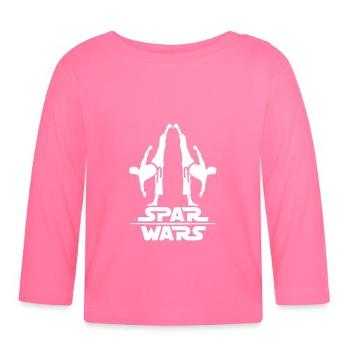 Spar Wars Martial Art - Baby Long Sleeve T-Shirt
