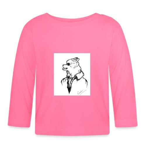InkedThe Dog style bak LI - Camiseta manga larga bebé