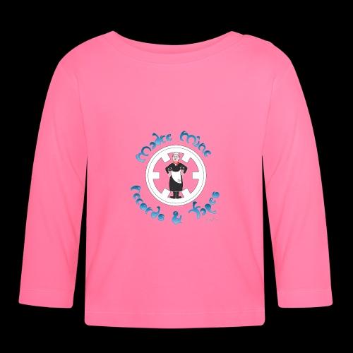 PC34 - madre mine records tapes la señora arcos - Camiseta manga larga bebé