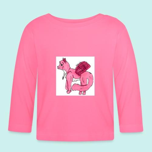 pink_cat - Vauvan pitkähihainen paita