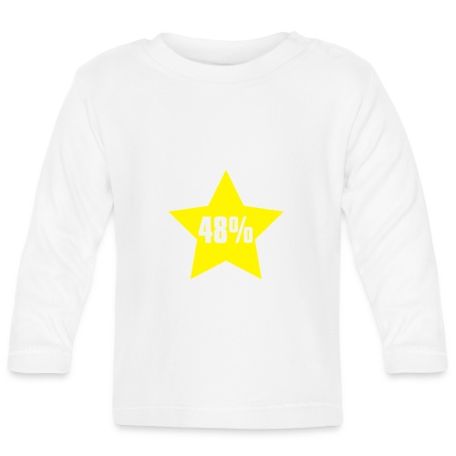 48% in Star - Baby Long Sleeve T-Shirt
