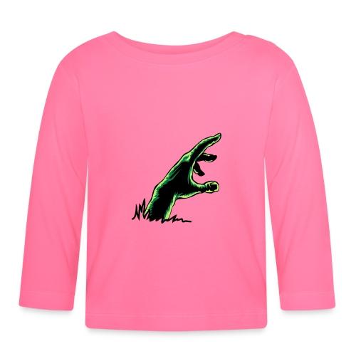 main_zombie - T-shirt manches longues Bébé