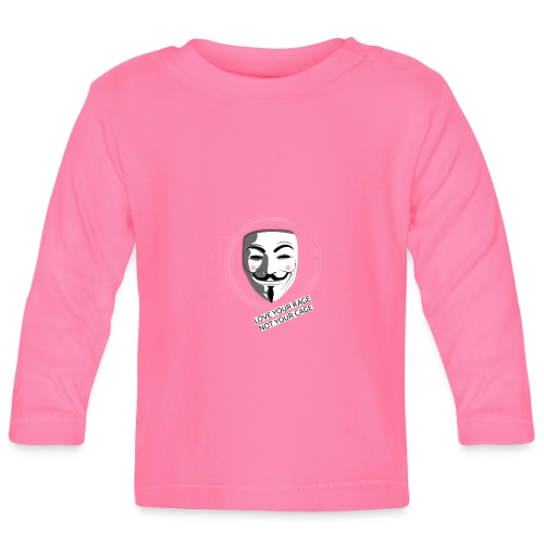 Anonymous Love Your Rage - Baby Long Sleeve T-Shirt
