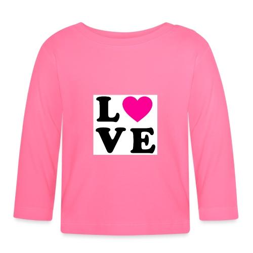 Love t-shirt - T-shirt manches longues Bébé