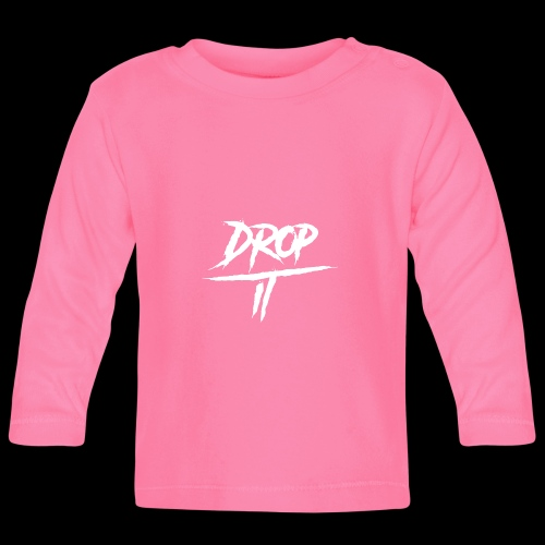 OFFICIAL ''DROP IT'' LOGO HAT - Baby Long Sleeve T-Shirt