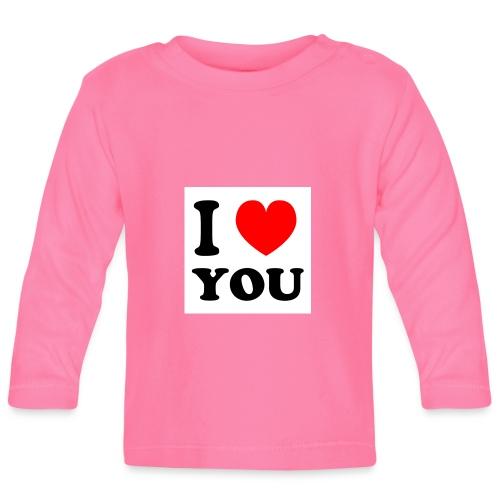 Sweater met i love you - T-shirt