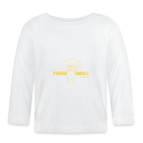 Poggio Casoli_Istituzionale_Giallo - Maglietta a manica lunga per bambini
