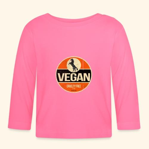 VEGAN Prancing Horse - Baby Long Sleeve T-Shirt
