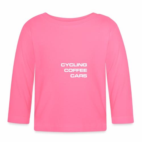 Cycling Cars & Coffee - Baby Long Sleeve T-Shirt