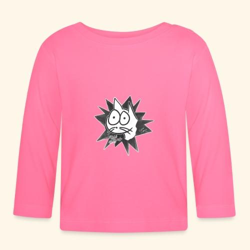 Glotzi die Glotzkatze - Baby Langarmshirt