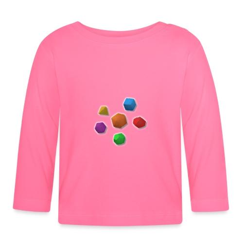 PolyDicePin - Baby Long Sleeve T-Shirt
