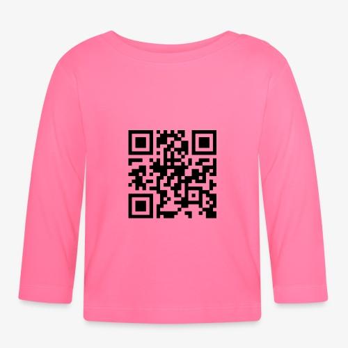 QR Code - Baby Long Sleeve T-Shirt