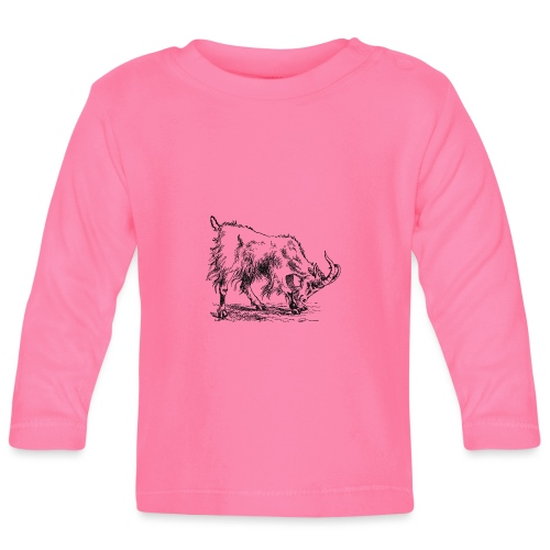 Ziege - Baby Langarmshirt