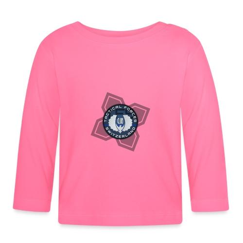 TFS Badge Bleu - T-shirt manches longues Bébé