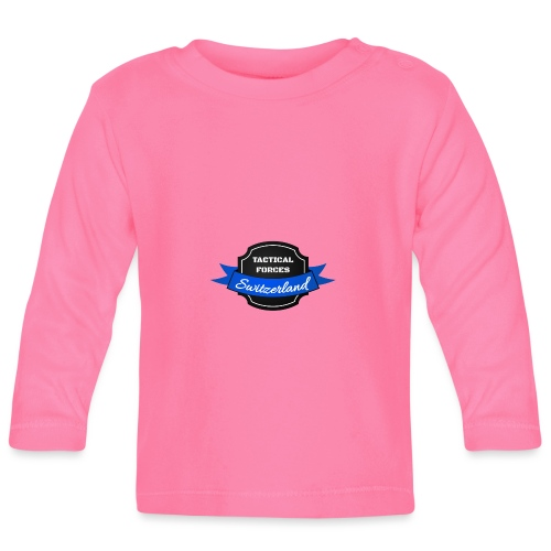 TFS Ruban noir et bleu - T-shirt manches longues Bébé
