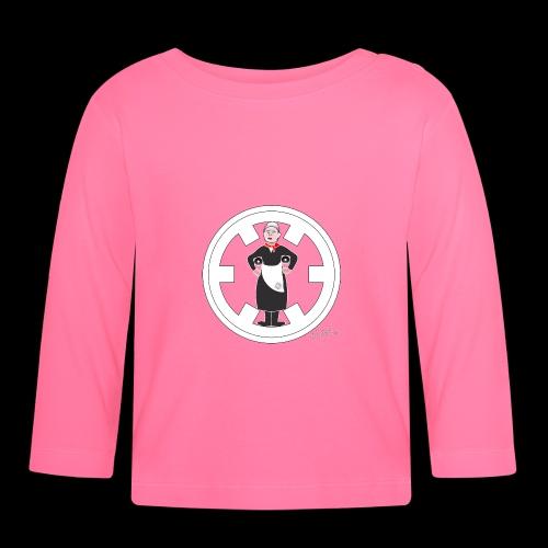 PC33 madre mine records tapes la señora logo - Camiseta manga larga bebé