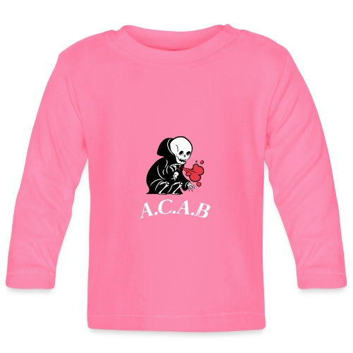 A.C.A.B la mort - T-shirt manches longues Bébé
