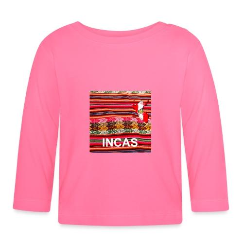 Telar inca Mapa del Peru - T-shirt manches longues Bébé