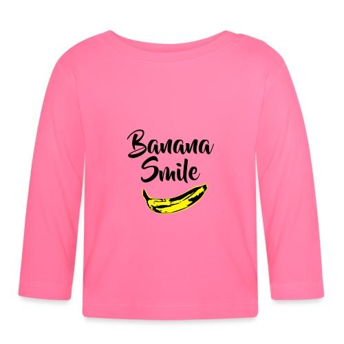 banana smile - T-shirt manches longues Bébé