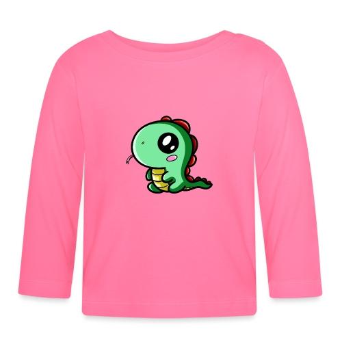 Dinosaure Kawaii - T-shirt manches longues Bébé