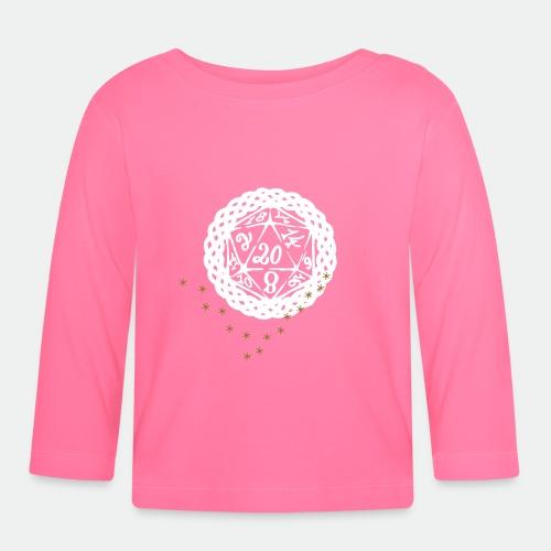 Snowflake Starglitter - Baby Long Sleeve T-Shirt