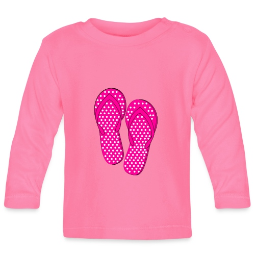 Slippers - Baby Langarmshirt