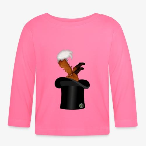 Mikkel Rev - Langarmet baby-T-skjorte