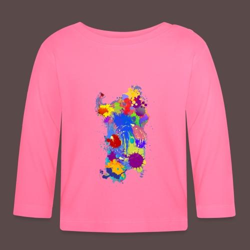 Sardegna Silhouette Paint - Maglietta a manica lunga per bambini