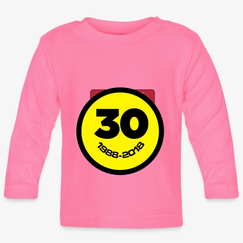 30 Jaar Belgian New Beat Smiley - T-shirt