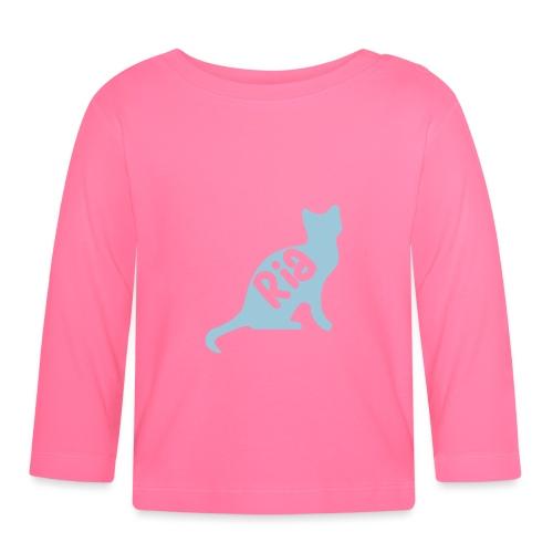Team Ria Cat - Baby Long Sleeve T-Shirt