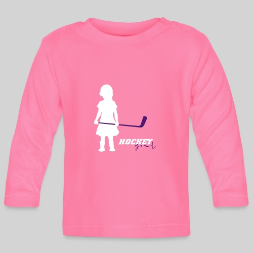 Hockey Girl I - Baby Langarmshirt