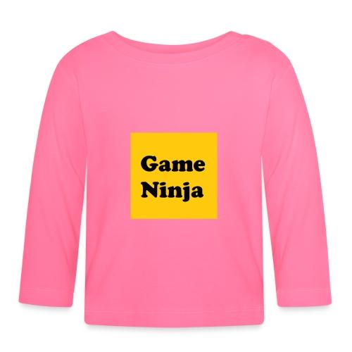 Game Ninja - Langarmet baby-T-skjorte