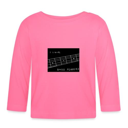 I Love Bass Players - Baby Long Sleeve T-Shirt