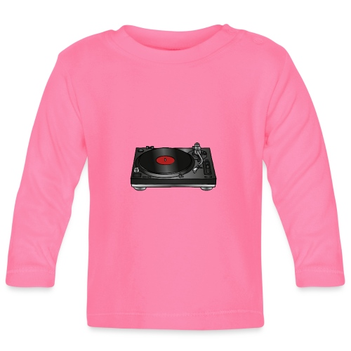 Plattenspieler VINYL - Baby Langarmshirt