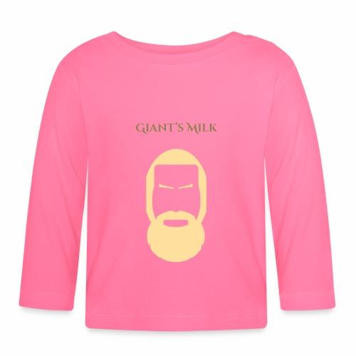 Giant Milk - T-shirt manches longues Bébé