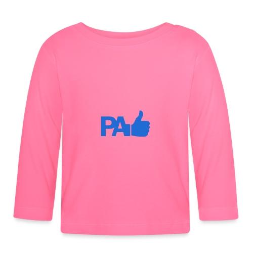 PaLike - Camiseta manga larga bebé