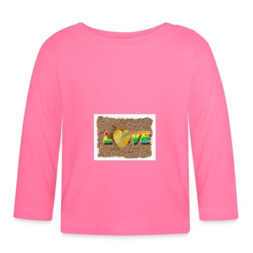 love,madinina - T-shirt manches longues Bébé